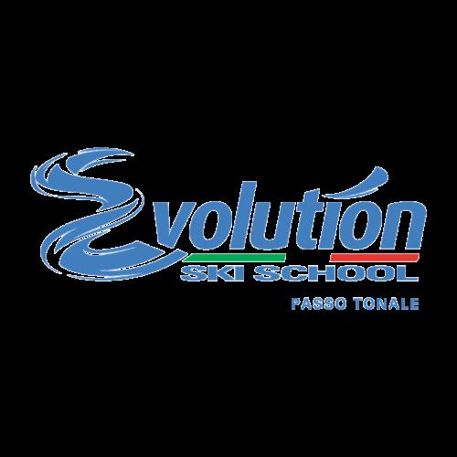 logo evolution ski school